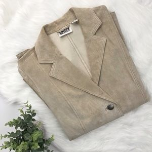 Vintage Chico's leather jacket